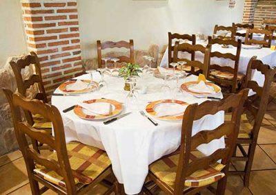 mesas decoradas restaurante la chuleta